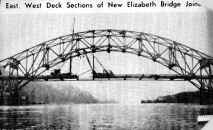 Newspaper article on new bridge construction