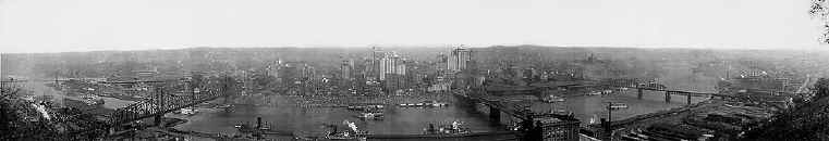 Pittsburgh panorama 1908