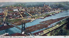 View of Pittsburgh 1908